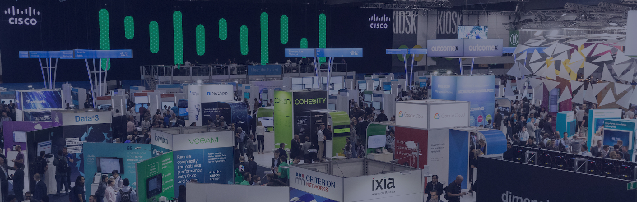 EXHIBIT AT CISCO LIVE