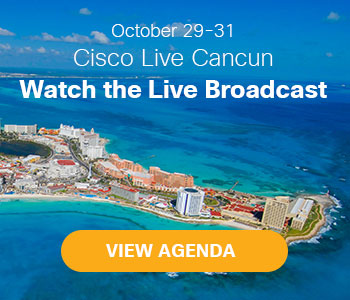 Cisco Live Cancun 2019 Live Broadcast