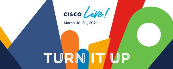Cisco Live - TURN IT UP